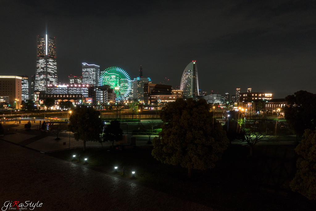 Yokohama-sky-night