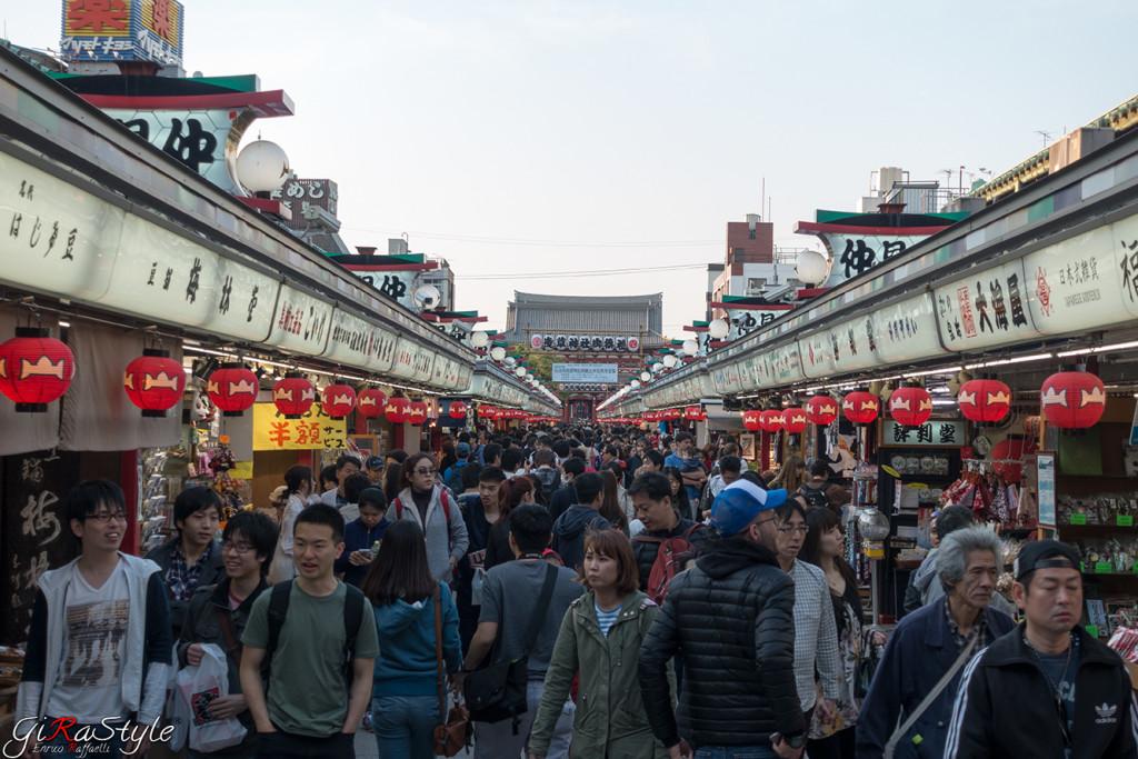 Asakusa Nakamise-dori shopping