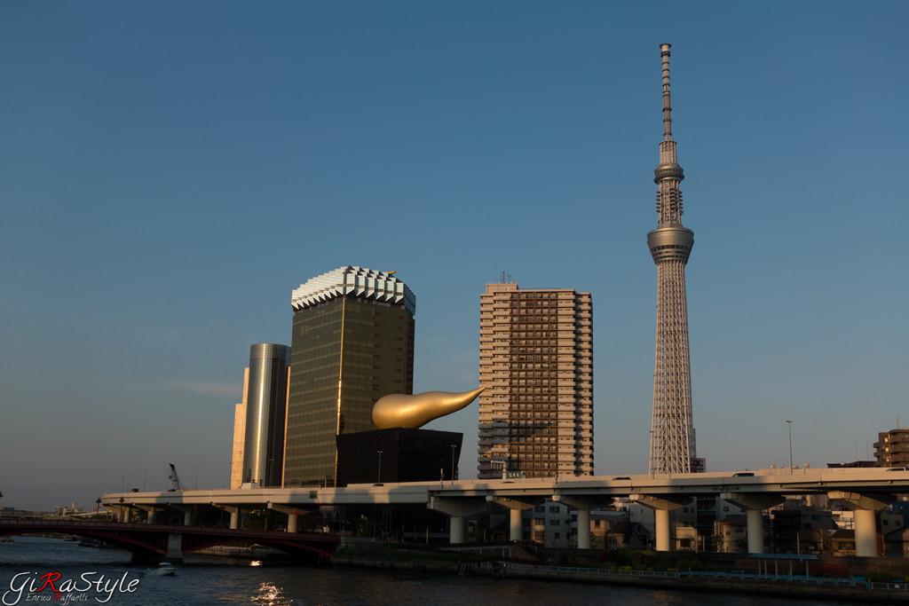 Tokyo Sky Tree di giorno