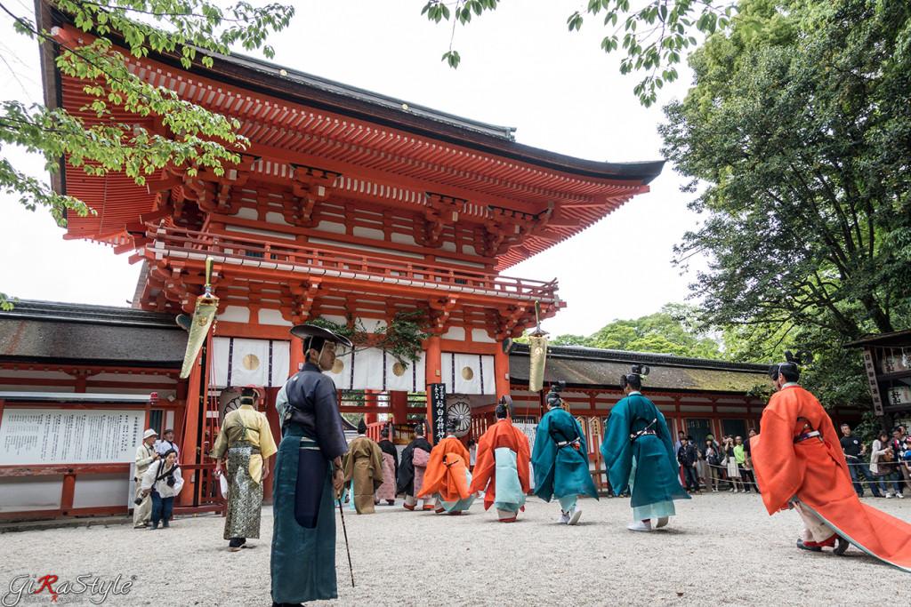 Shimogamo ingresso tempio