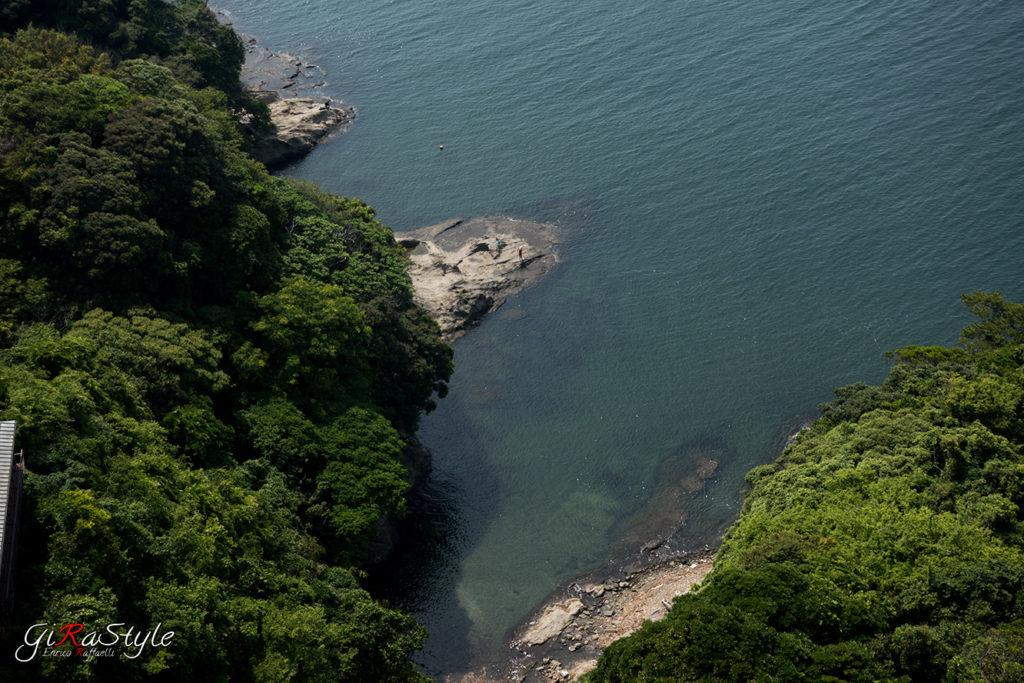 mare visto da Enoshima