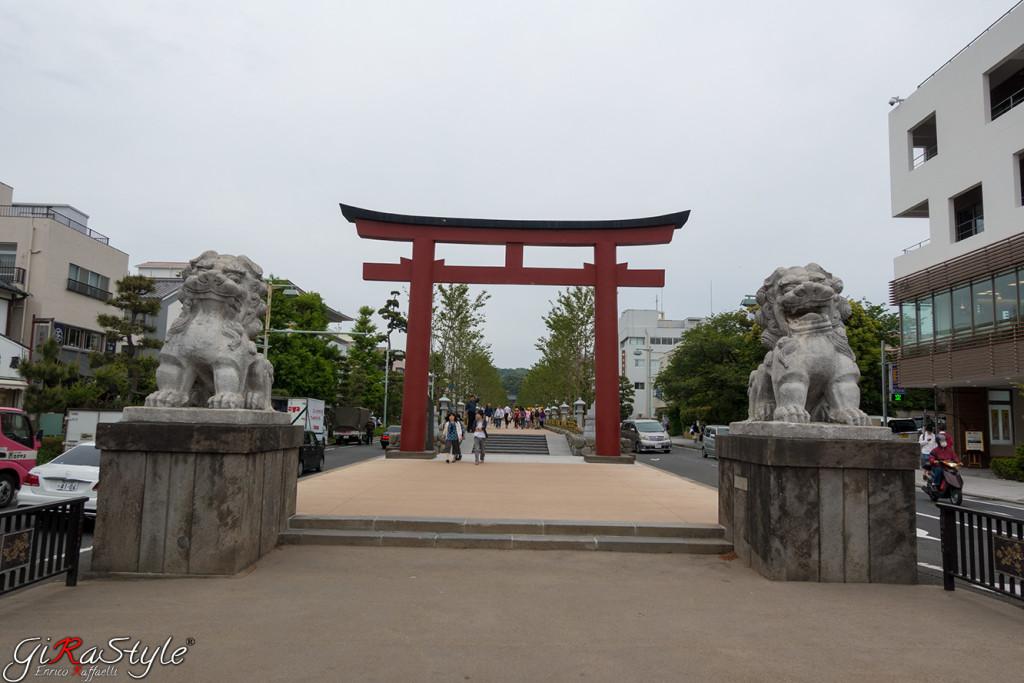 Kamakura Tori ingresso al viale