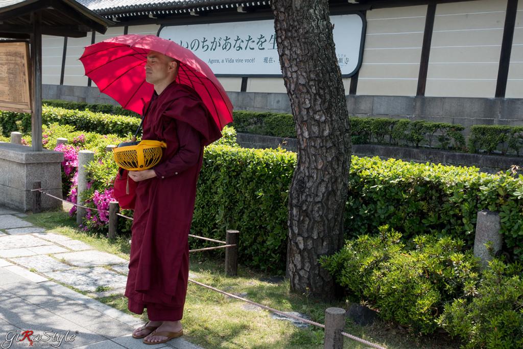 monaco buddista a Kyoto