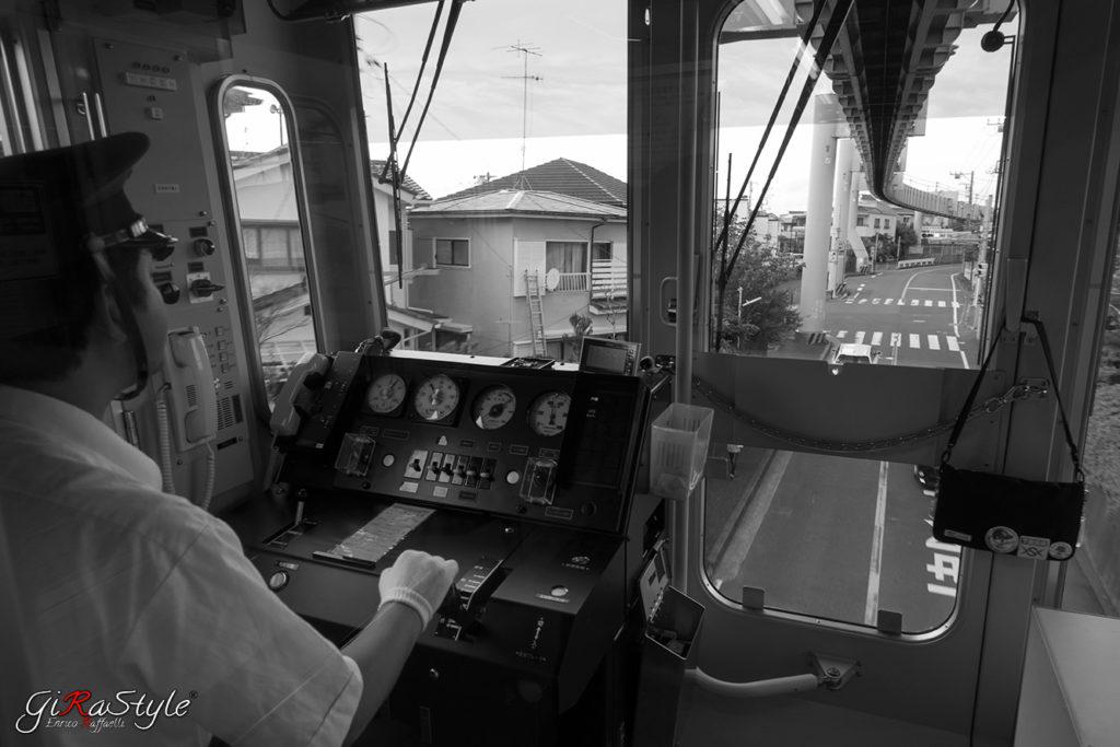 la monorotaia sospesa di Enoshima