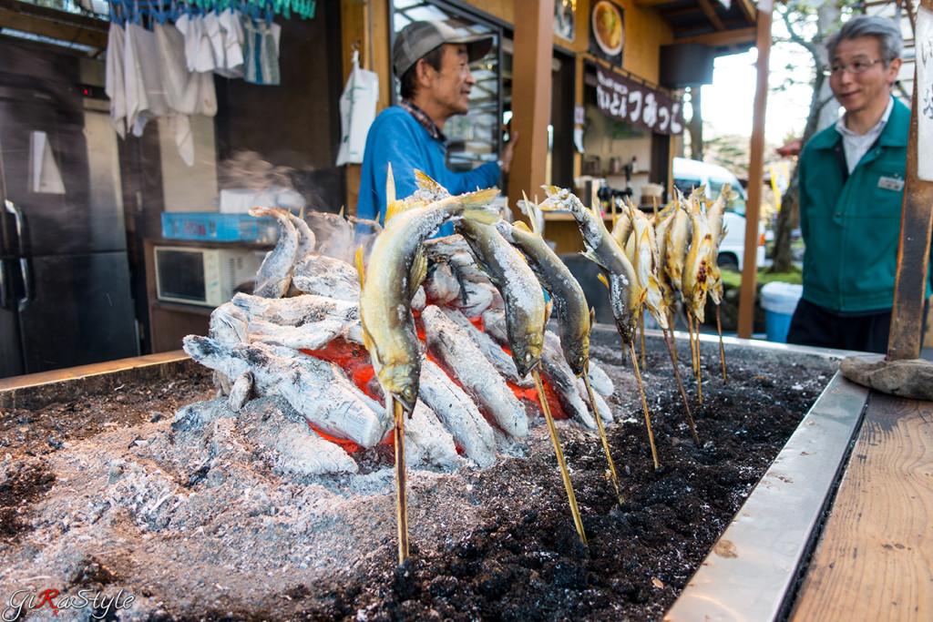 pesce cotto a Nikko