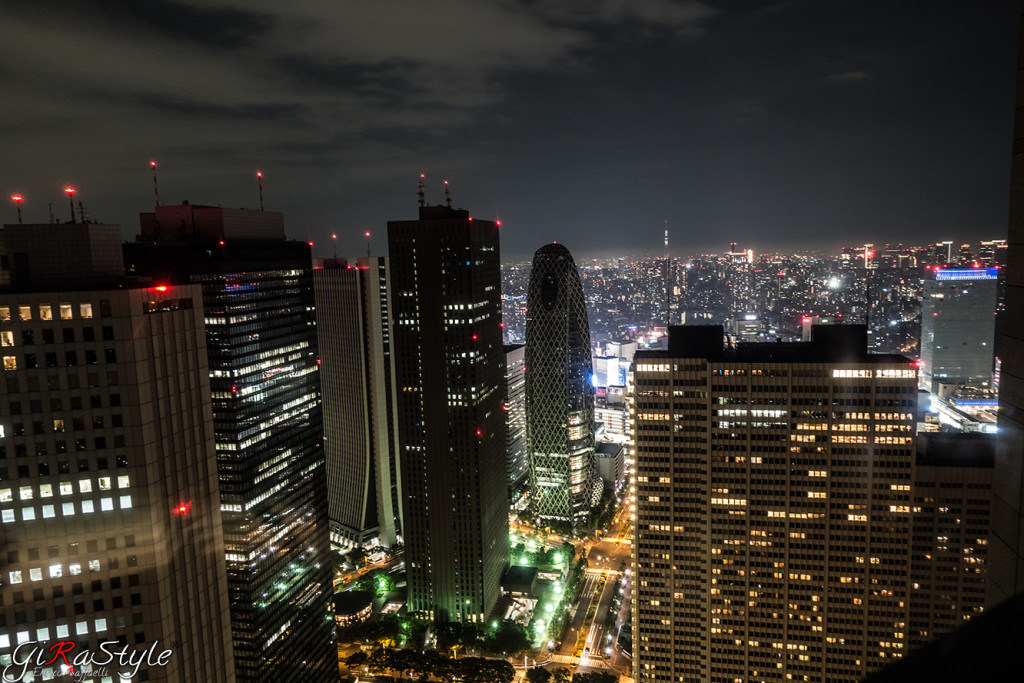 Notte al Tokyo Metropolitang Government Building