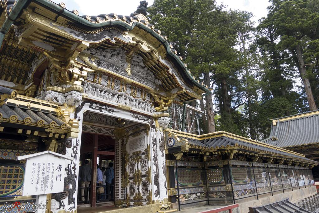 meraviglioso ed imponente tempio di Nikko