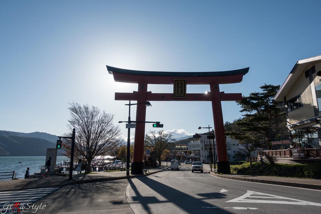 Ingresso al lago di Nikko