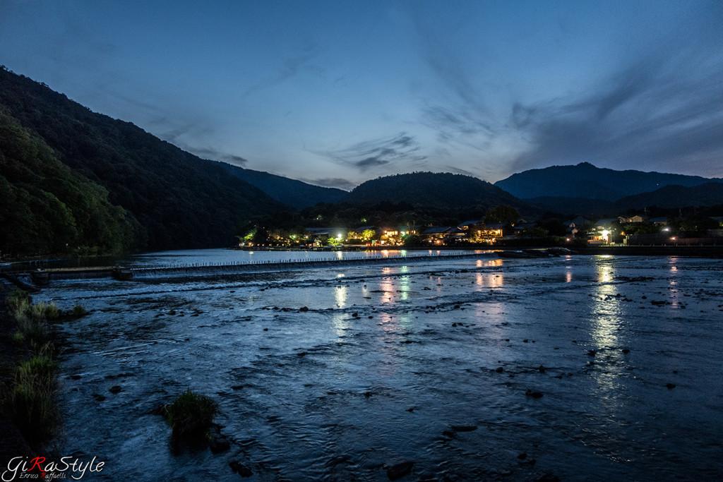 Arashiyama tramonto