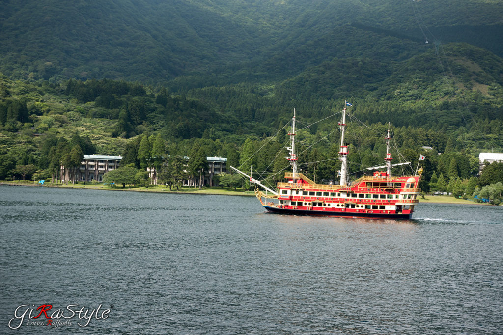 Battello ad Hakone