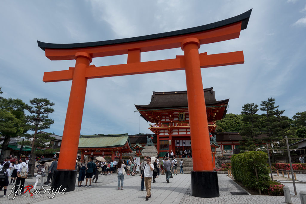 Torii principale del Fushimi Inari