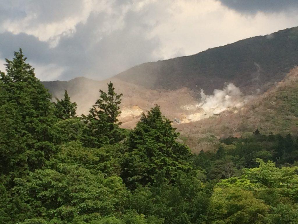 Hakone vulcano