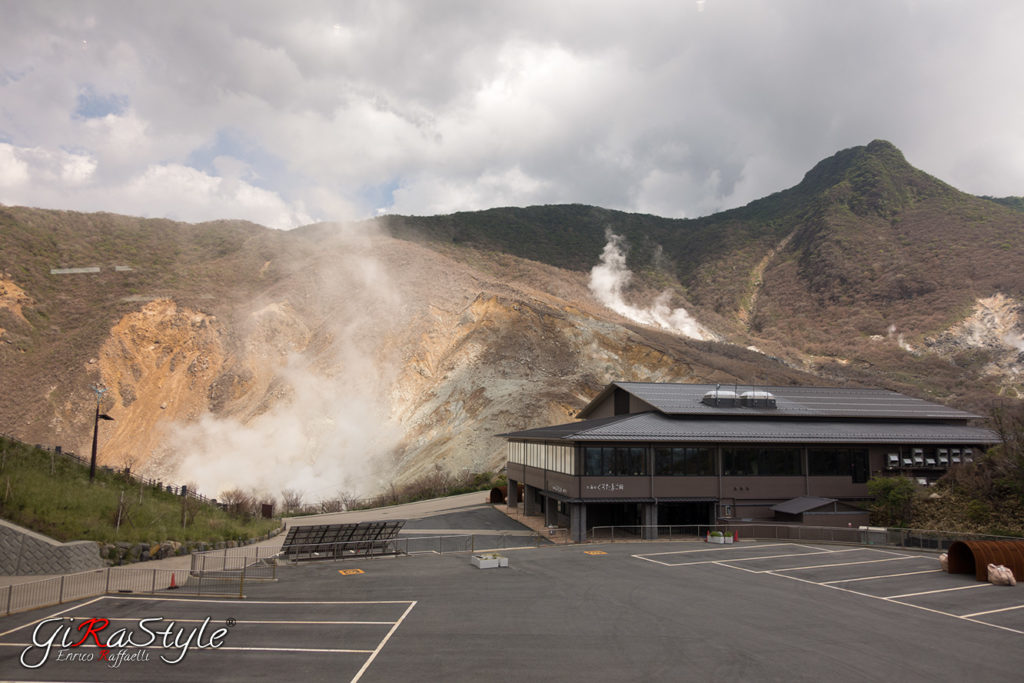Gas espulsi ad Hakone