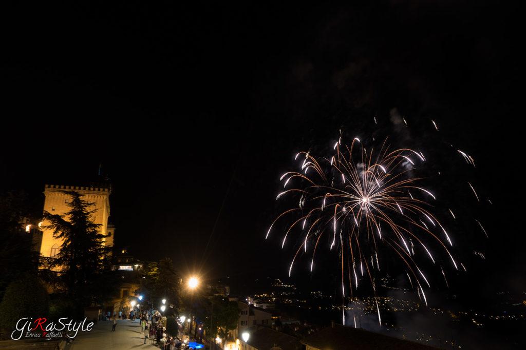 fuochi d'artificio a san marino