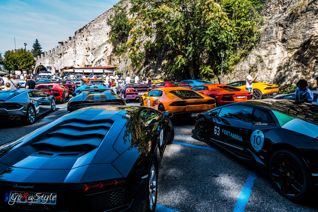 Lamboghini-parking-San-Marino