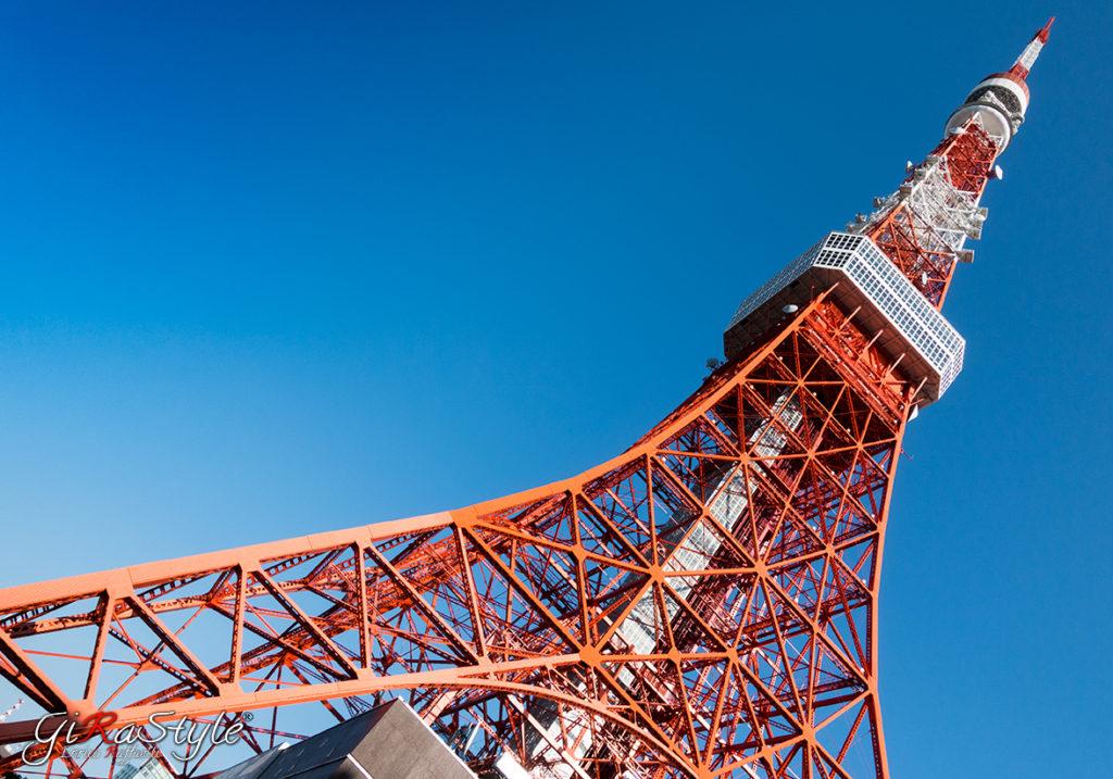 vista della Tokyo Tower