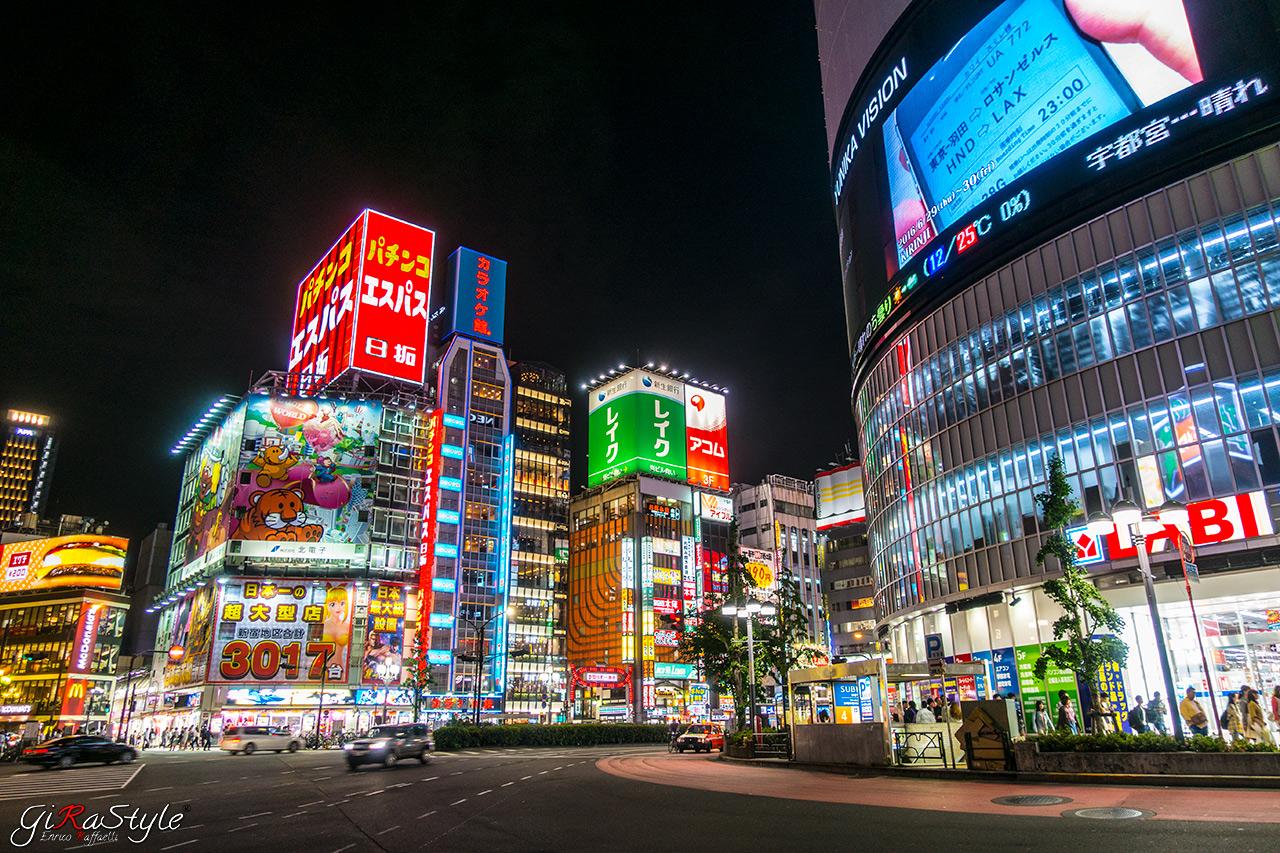 Shinjuku di notte