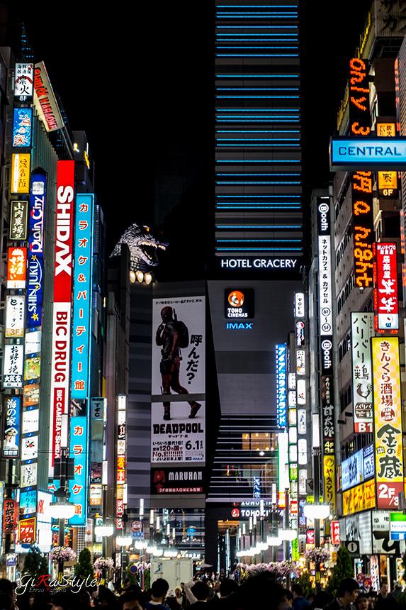 Strada principale di Shinjuku