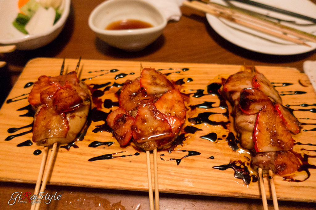 yakitori mangiati a tokyo