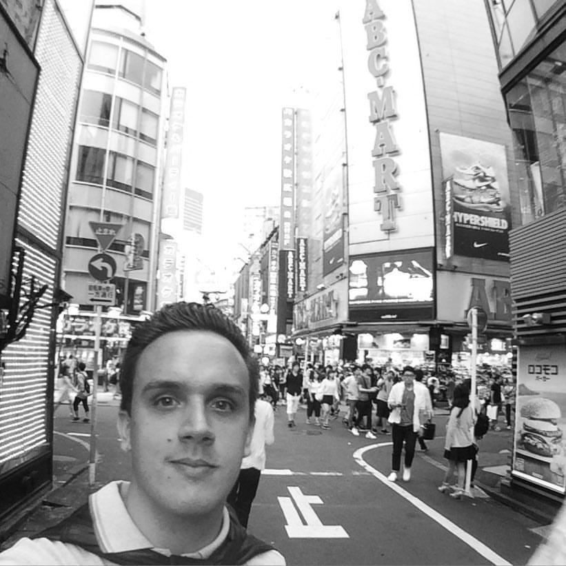 Enrico Raffaelli a Tokyo