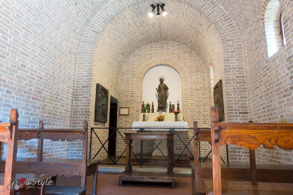 Interno Cappella Santa Barbara nella Prima Torre