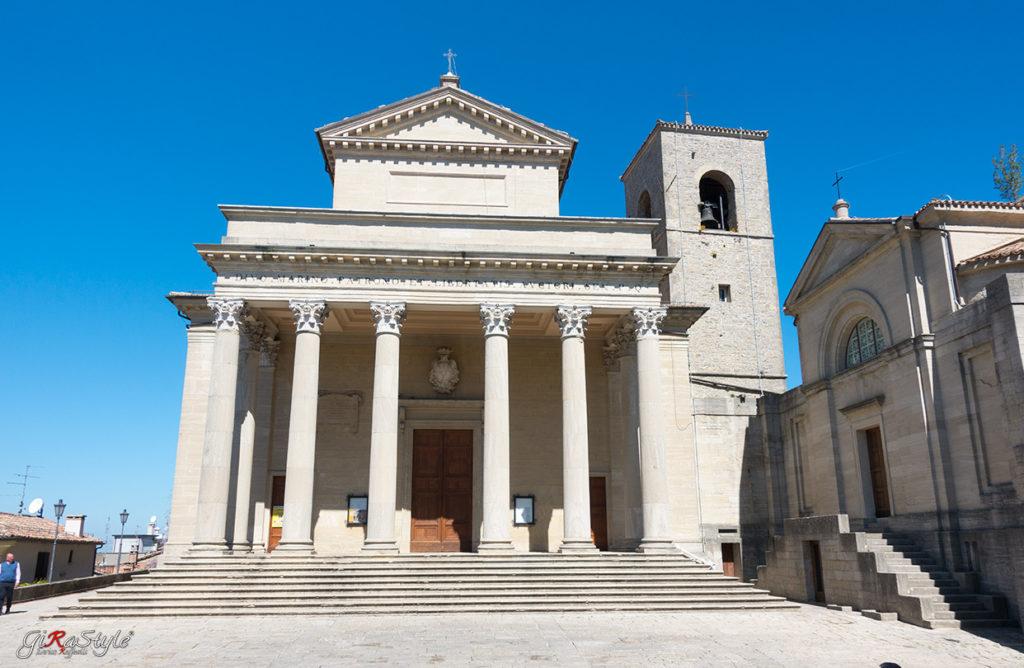 La Basilica di San Marino interamente in pietra