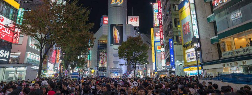 Halloween a Shibuya