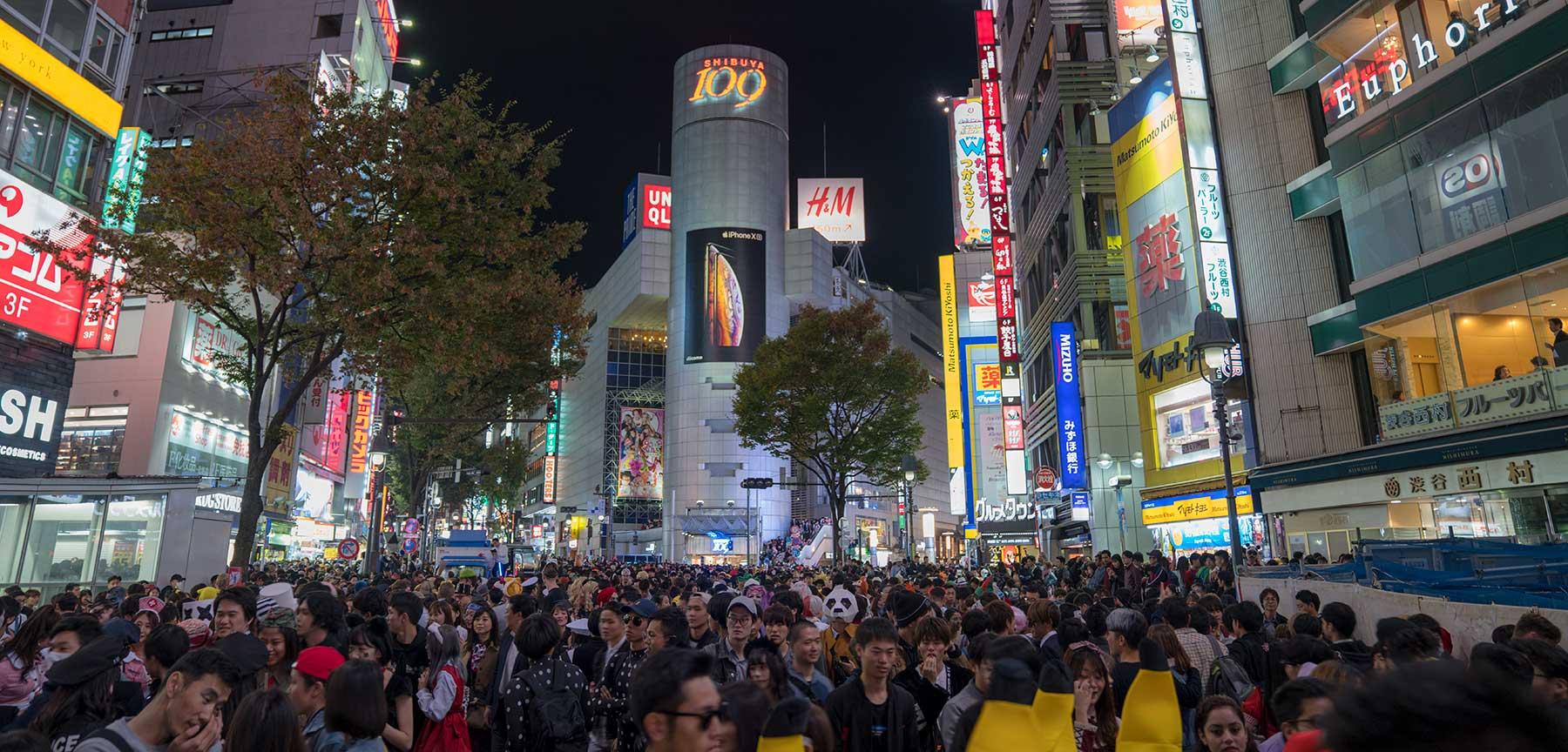 Shibuya ad Halloween è presa d'assalto!